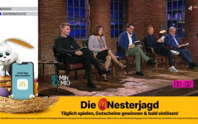"""""""Die Nesterjagd"""": d-force setzt für McDonald's erste programmatische Addressable TV-Kampagne in Österreich um"""