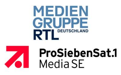 ProSiebenSat.1 und Mediengruppe RTL Deutschland gründen Joint Venture